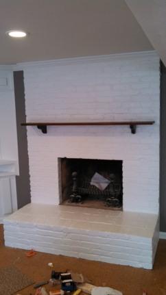 Basement 1 Fireplace