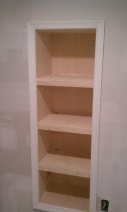Basement 2 Wall Bookcase