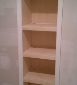Basement 2 Wall Bookcase